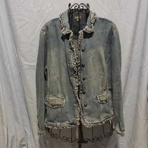 J Jill Denim Jacket